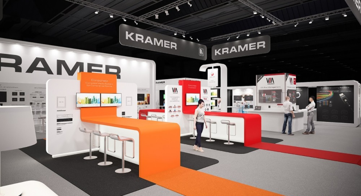 Kramer au Salon Infocom, une technologie intégrée