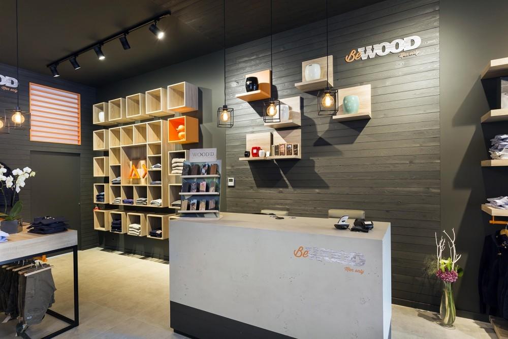 Bewood- amenagement magasin-boetiek transformatie concept store -conceptexpo 1