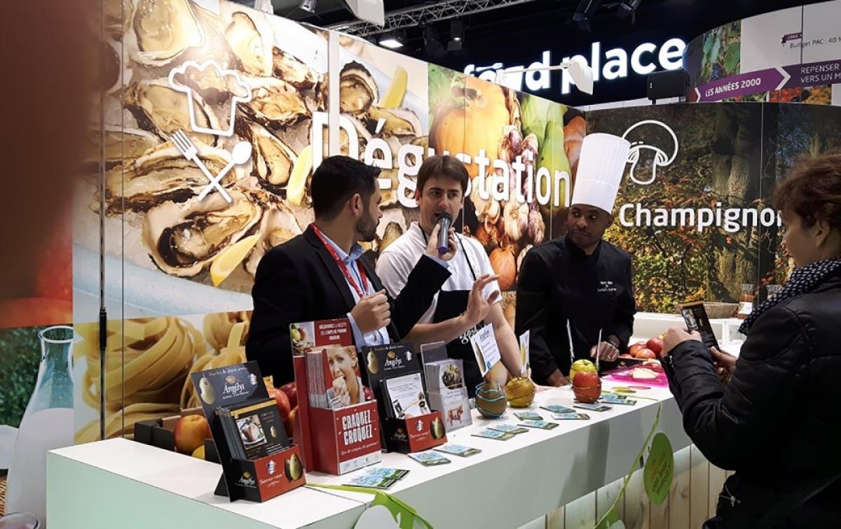 Franceagrimer international agriculture expo paris for Creation stand salon