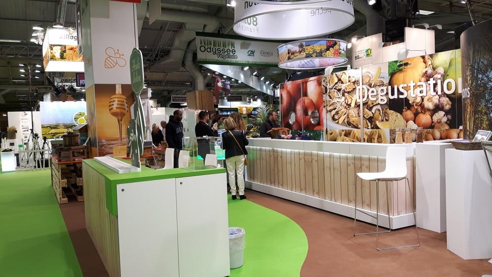 Franceagrimer- salon agriculture paris- conceptexpo- stand opbouwing - création de stand 2