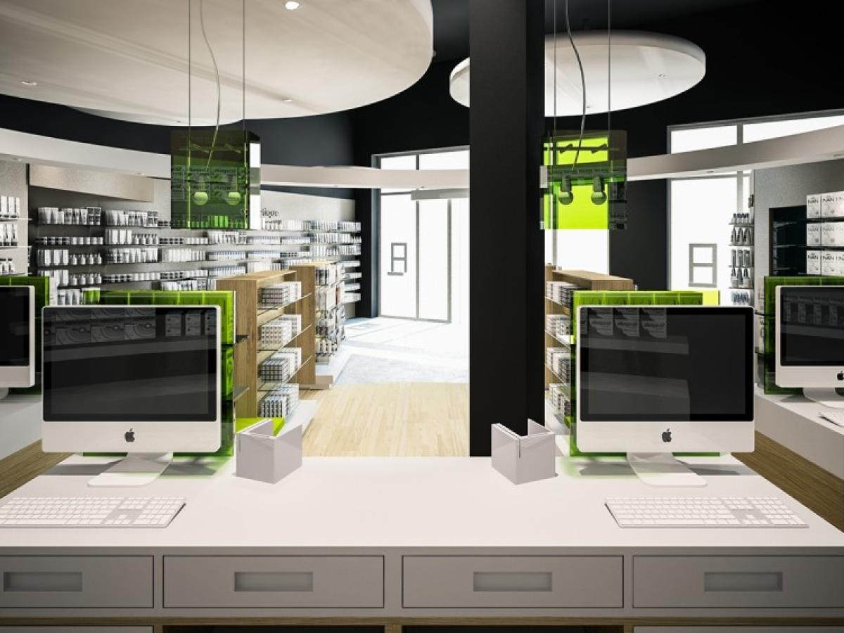 Une nouvelle approche de l'agencement de pharmacie