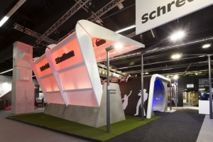Schréder @Light+Building-Real situation and interaction
