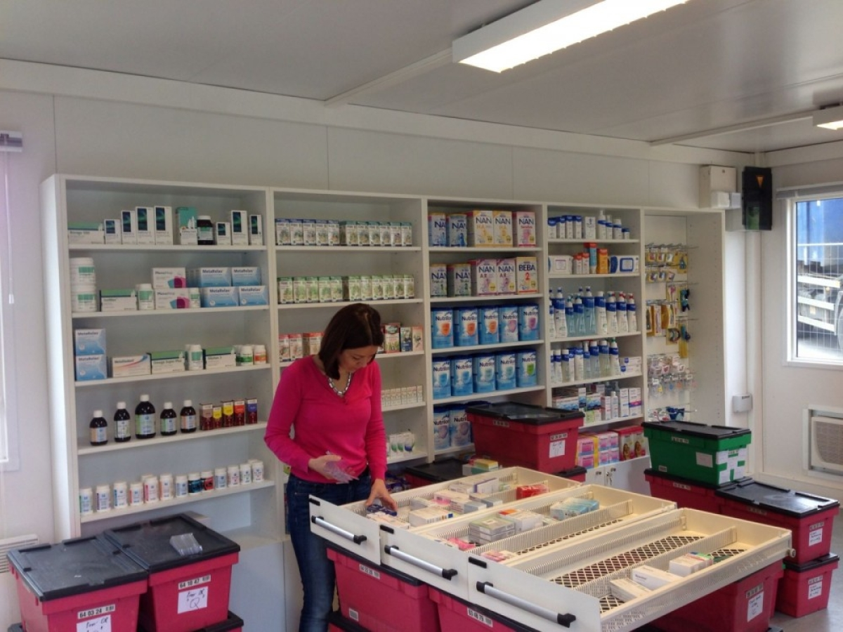 Réaménagement de la pharmacie Maillebotte-Nivelles