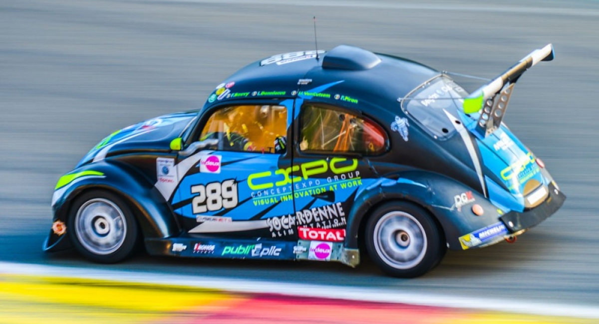 5th position out of 120 for our 25 Hour VW Fun Cup at Spa-Francorchamps!