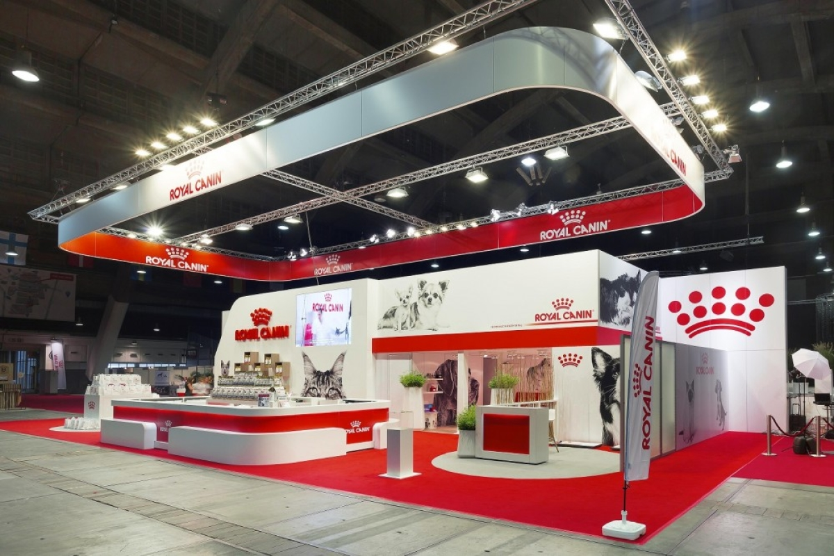 Stand Expo Europa : Royal canin at the european dog show brussels expo