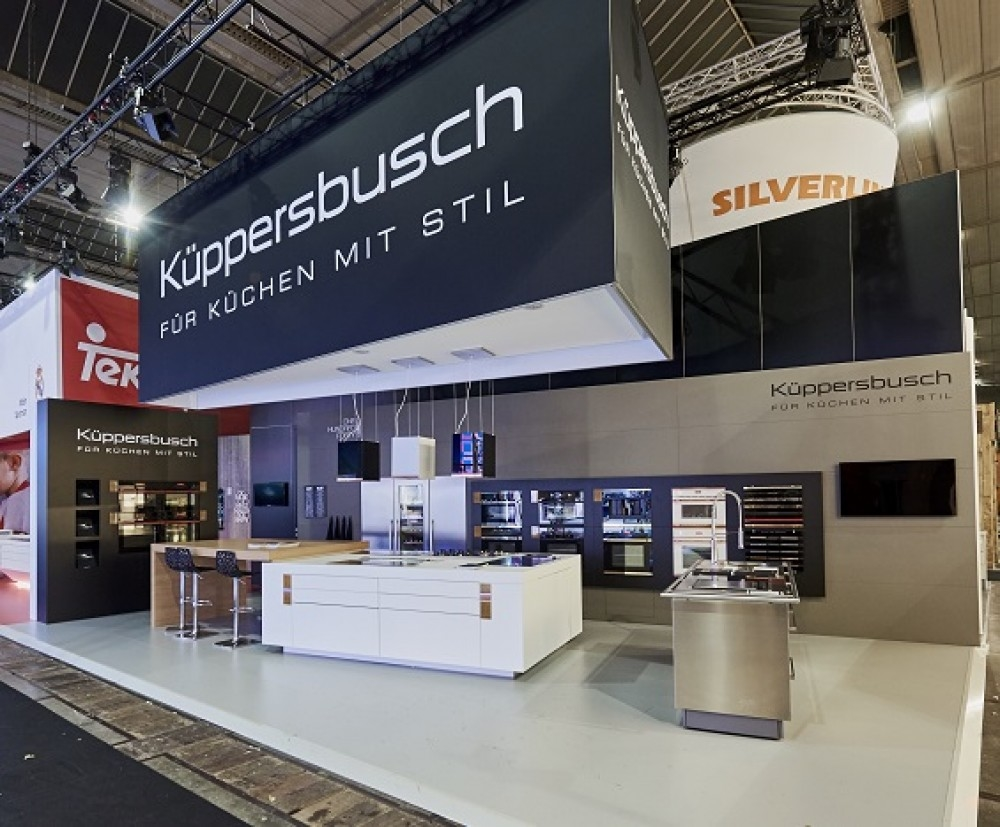 Kupperbush - Batibouw 2016- conceptexpo- stand construction - stand opbouwing - stand construction