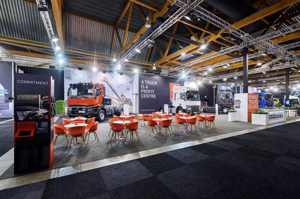 RENAULT TRUCK - salon auto- Auto beurs - conceptexpo - stand building - construction stand (1)