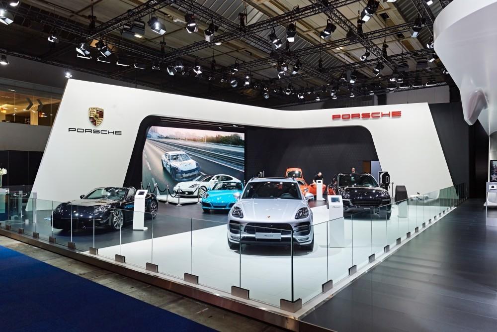 Porsche-salon auto- Auto beurs - conceptexpo - stand building - construction stand (4)