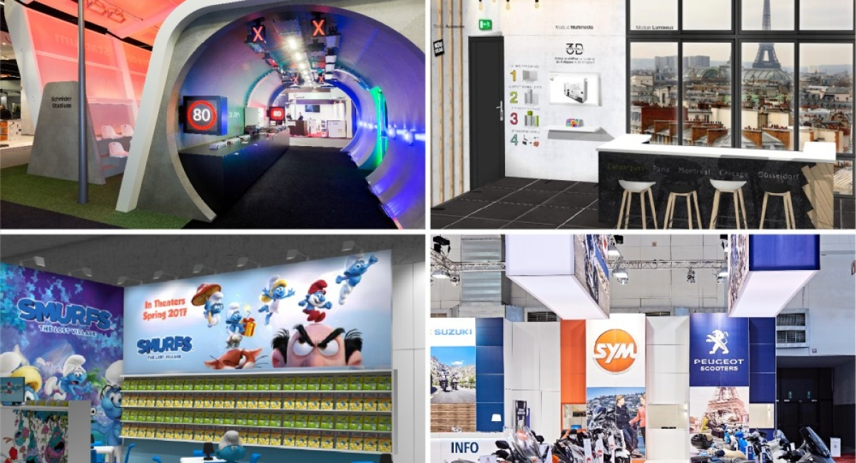Your international booths: which solution should be chosen for effective exporting?