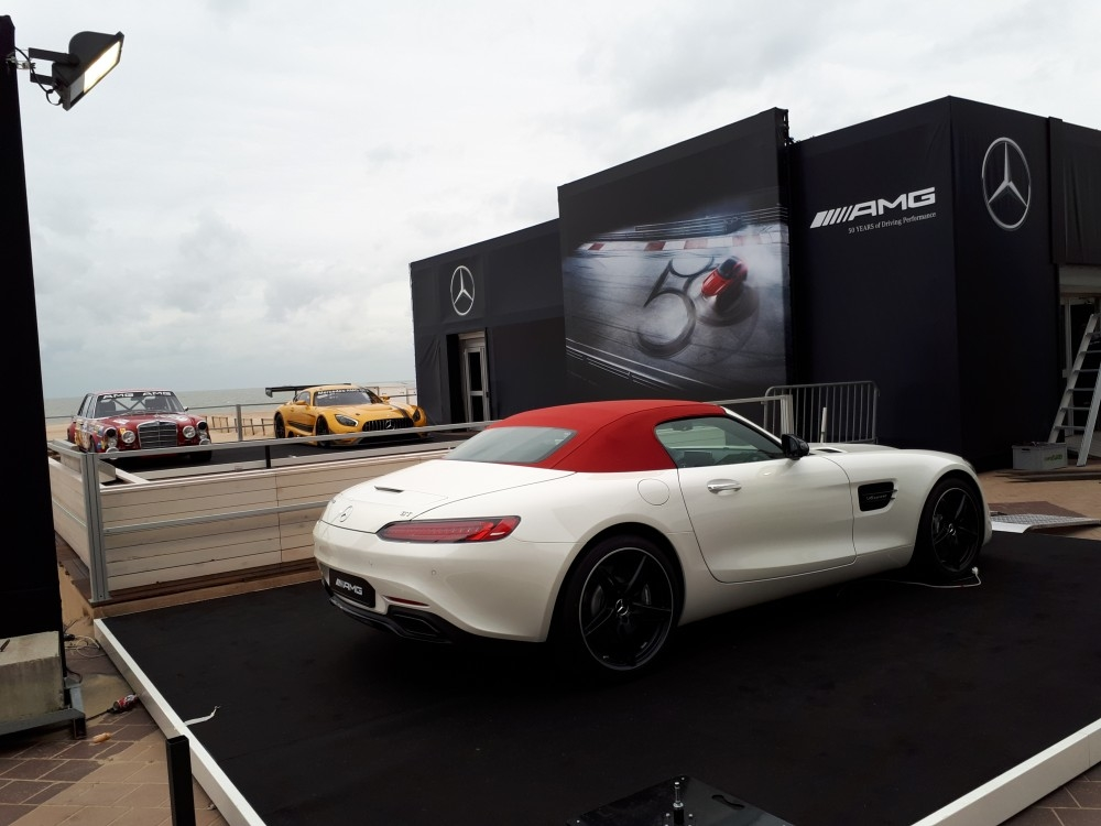 zoute grand prix-conceptexpo-mercedes AMG- pop up store- construction stand - aménagement de stand (5)