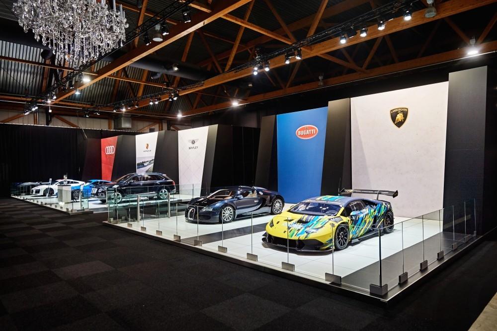 d'ieteren  Porsche Bentley Lambo Bugatti Au