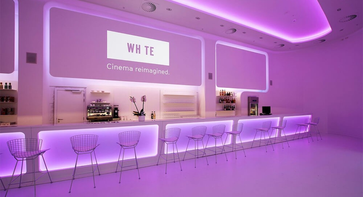 Le White Cinéma  by Belga Film - Docks Bruxsel