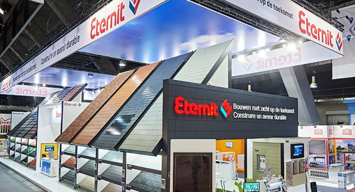 100% tailor-made contract for Eternit - Batibouw