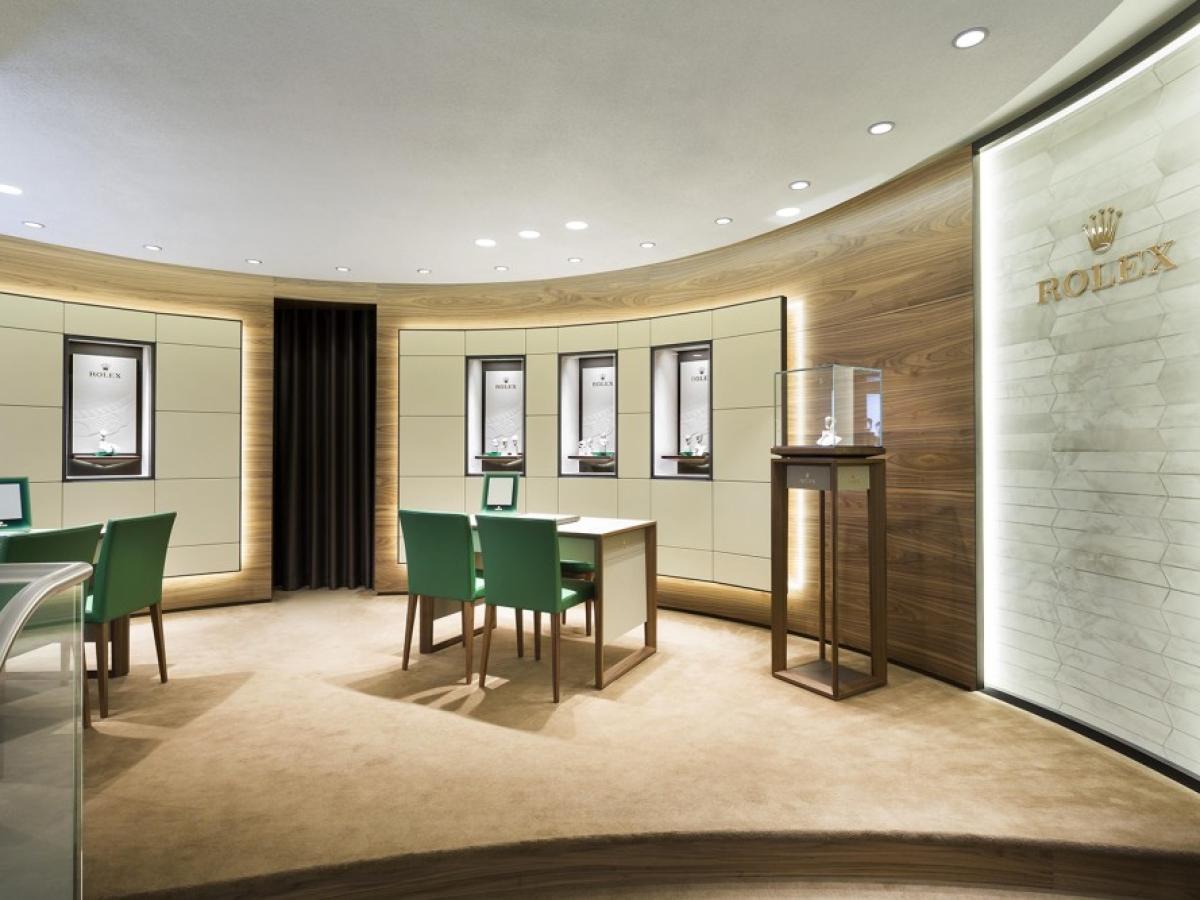 Nouveau Corner Rolex chez le célèbre Joaillier SLAETS