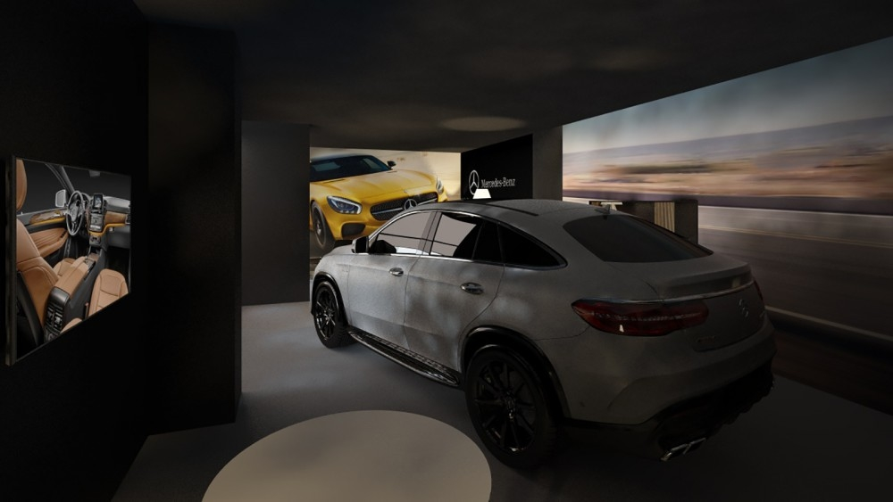 Pop-up store mercedes  - Knokke - conceptexpo - project  (1)