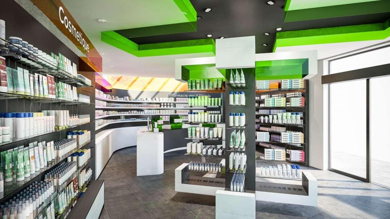 Amenagement Agencement De Pharmacie Conceptexpo