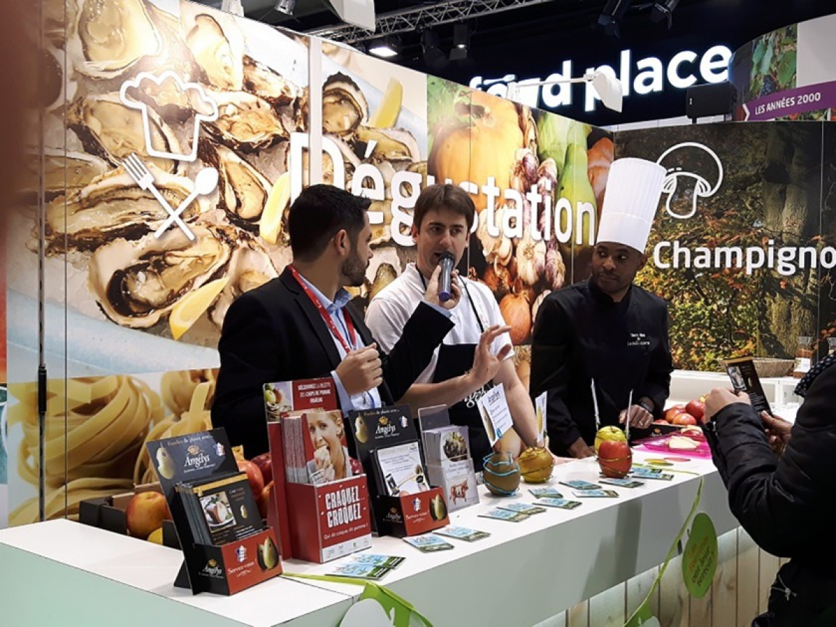 FranceAgriMer @Salon International de l'Agriculture Paris.