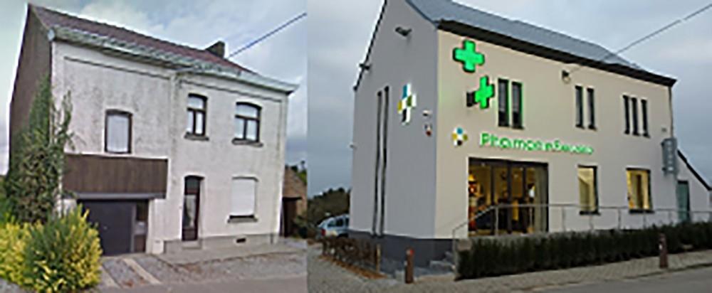 Apotheek inrichting - Aménagement de pharmacie - Servais -Ceroux - Conceptexpo