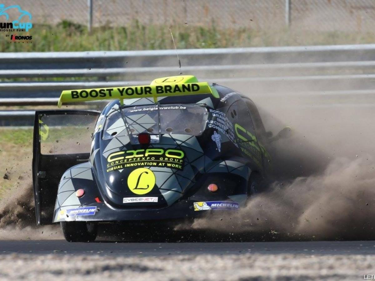 Fun Cup Crash de notre VW 65 à Zandvoort!