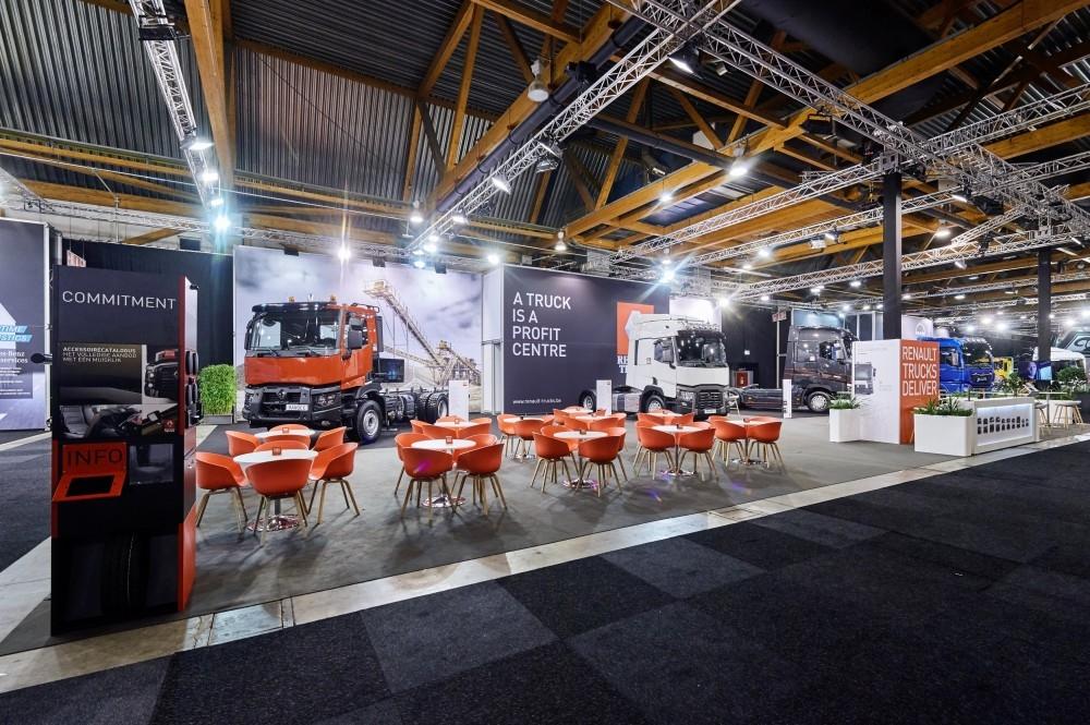 RENAULT TRUCK - salon auto- Auto beurs - conceptexpo - stand building - construction stand (1)