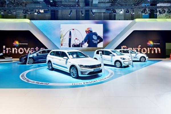 Volkswagen au Salon Auto/Moto