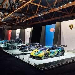 conceptexpo, D'ieteren, Porsche, Bentley, Lamborghini, Audi, Bugatti, création de stand, stand sur mesure, concepteur de stand