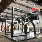 BATIBOUW+ Eternit, Eggo Kitchen, ... J-3⏰ stands building  A lot of progress have been made this WE...