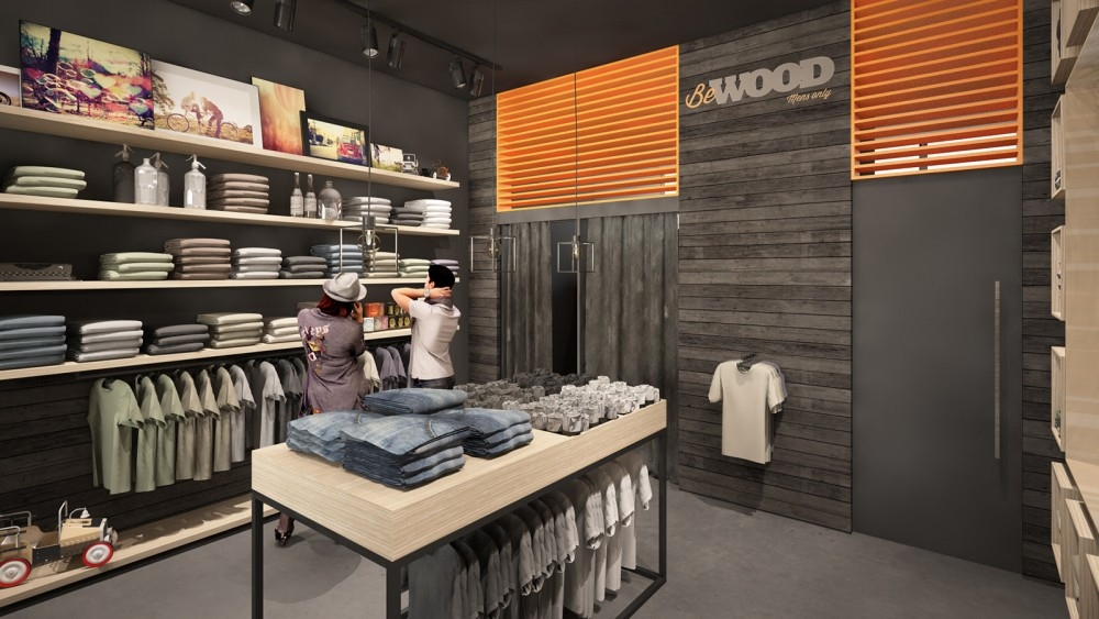 herinrichting van uw verkoopruimte- réaménagement point de vente-Bewood-conceptexpo- 3D-2 (1)