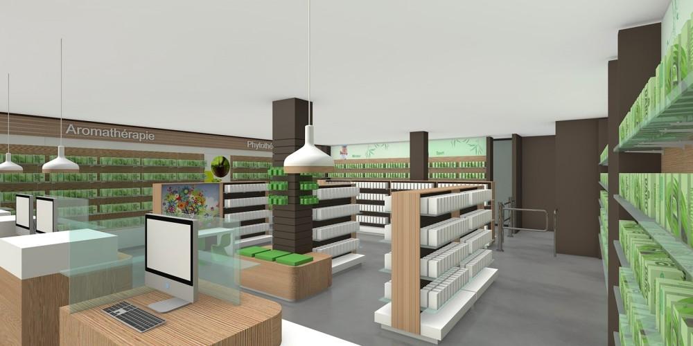 Apotheek inrichting-Pharmacie aménagement - Conceptexpo Ghlin (2)