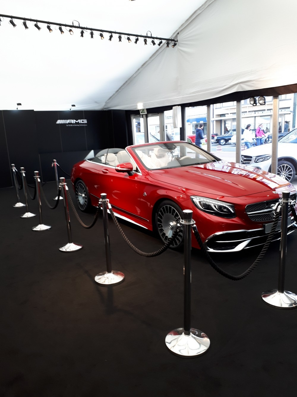 zoute grand prix-conceptexpo-mercedes AMG- pop up store- construction stand - aménagement de stand (6)