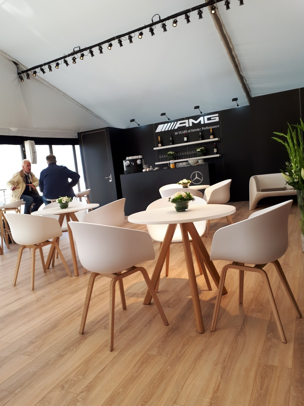 zoute grand prix-conceptexpo-mercedes AMG- pop up store- construction stand - aménagement de stand (8)