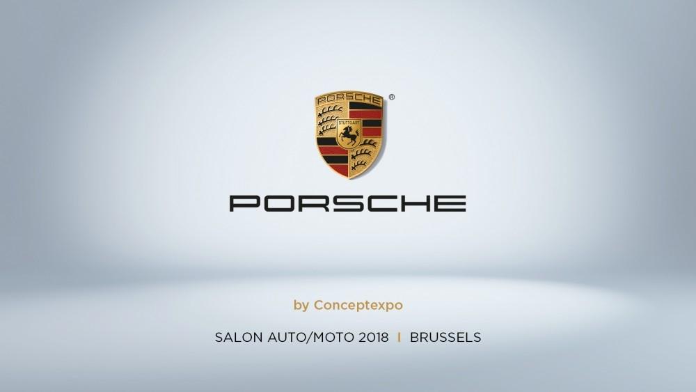 Time laspe Porsche cxpo écran acceuil