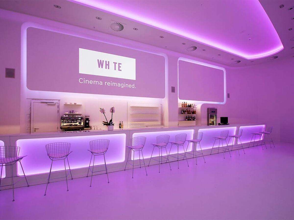 Le White Cinéma  by Belga Film - Docks Bruxsel