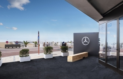 POP-UP STORE MERCEDES-BENZ AU ZOUTE