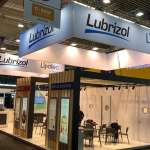 The in-cosmetics Group  #amsterdam  Lubrizol Opening today! More realisations on www.conceptexpo.com