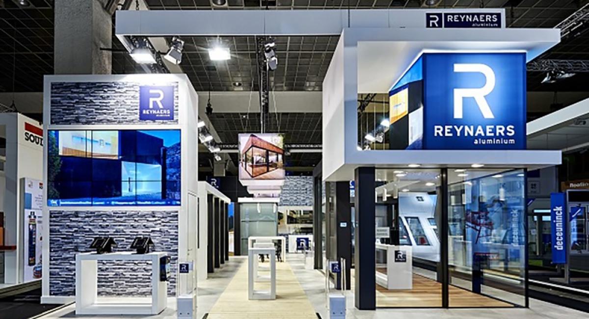Reynaers Aluminium - Batibouw 2016