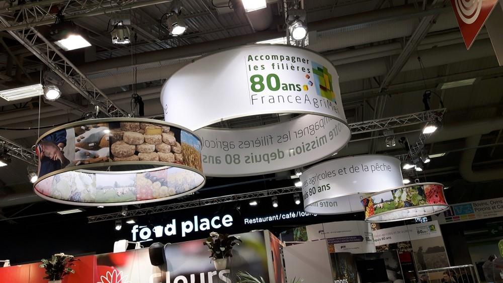 Franceagrimer- salon agriculture paris- conceptexpo- stand opbouwing - création de stand 1
