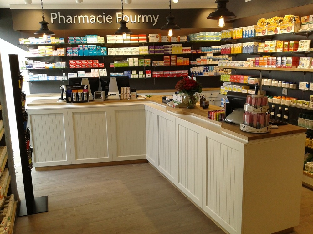 Apotheek inricting - aménagement pharmacie- conceptexpo - Fourmi (1)