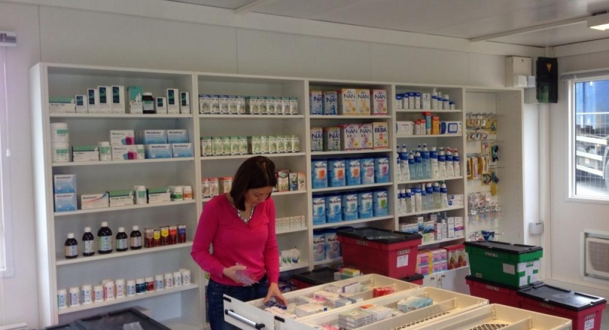 Herinrichting van apotheek Maillebotte-Nijvel