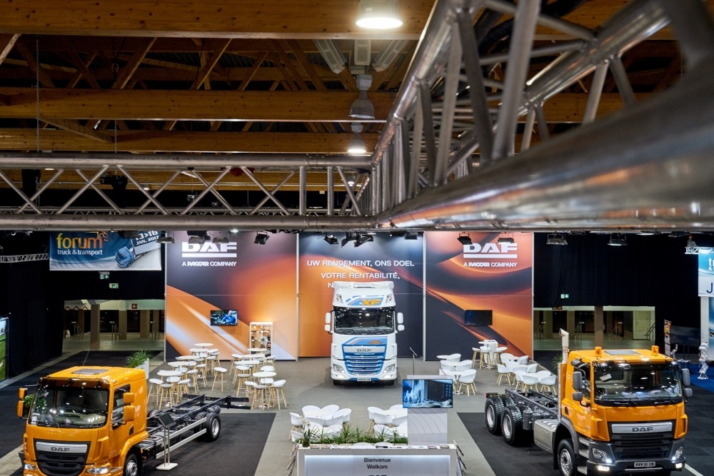 DAF - salon auto- Auto beurs - conceptexpo - stand building - construction stand (1)