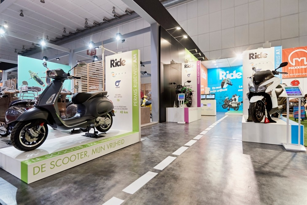 Start 2 Ride -salon auto- Auto beurs - conceptexpo - stand building - construction stand (6)