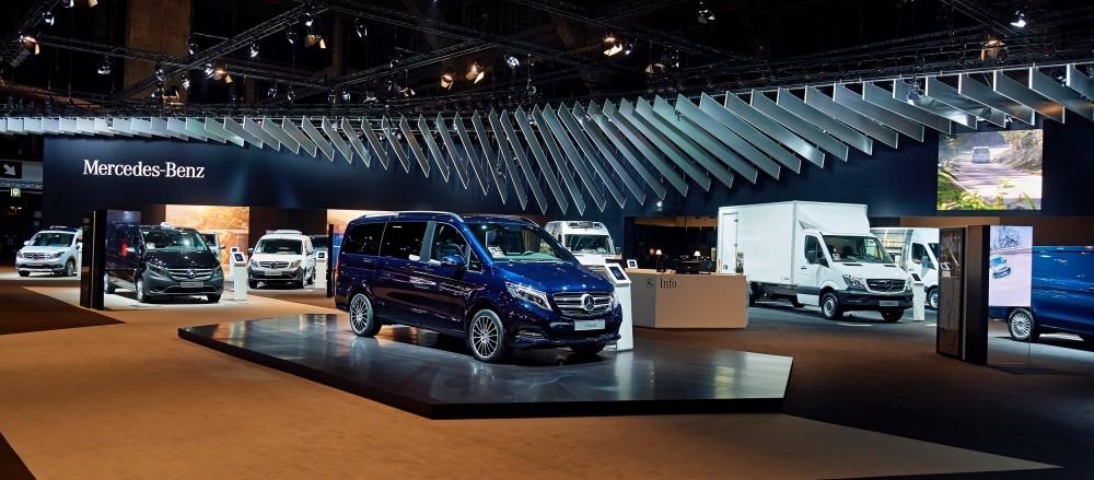 Mercedes-Benz -salon auto- Auto beurs - conceptexpo - stand building - construction stand (3)