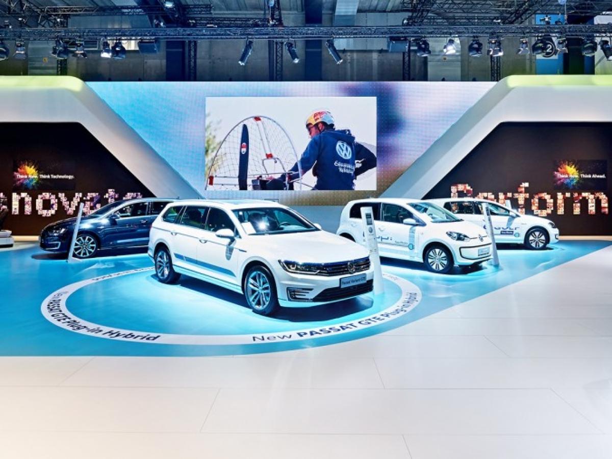 Volkswagen op het Auto/Motosalon: Zoom op een 'Premium'-project, 100% op maat & full services