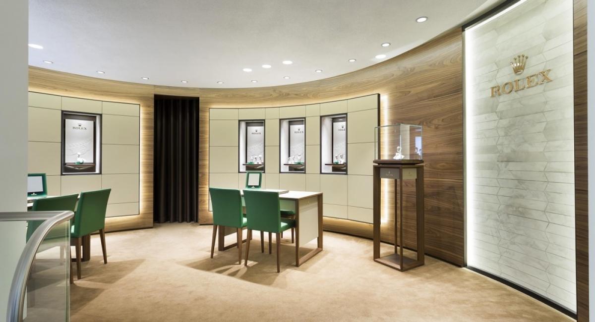 Nieuwe Rolex Corner bij de beroemde juwelier SLAETS