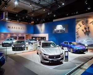 conceptexpo, Maserati, auto/moto beurs, beursstand, standbouw, standbouwer, standenbouw